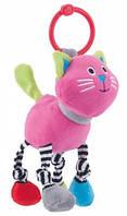 Игрушка-погремушка мягкая, кот, Canpol babies (68/051-3)