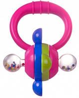Погремушка Колесо (розовая), Canpol babies (2/887-2)
