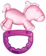 Погремушка-грызунок Конек (розовая), Canpol babies (74/018-1)