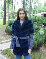 Меховая куртка из бобрика
