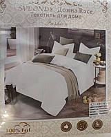 Комплект постельное белье 200х230 Евро Вязь