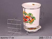 Фарфоровая подставка под кухонные принадлежности 388-177-1