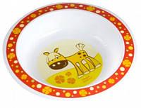 Тарелка пластиковая глубокая Smile с лошадкой, Canpol babies (4/412-5)