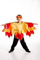 Осенний листик карнавальный костюм для мальчика