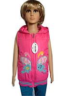 Качественная жилетка для девочки бабочка