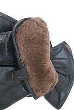 Перчатки из кожи подросток мужские Felix Средние 10M-024s2, фото 3