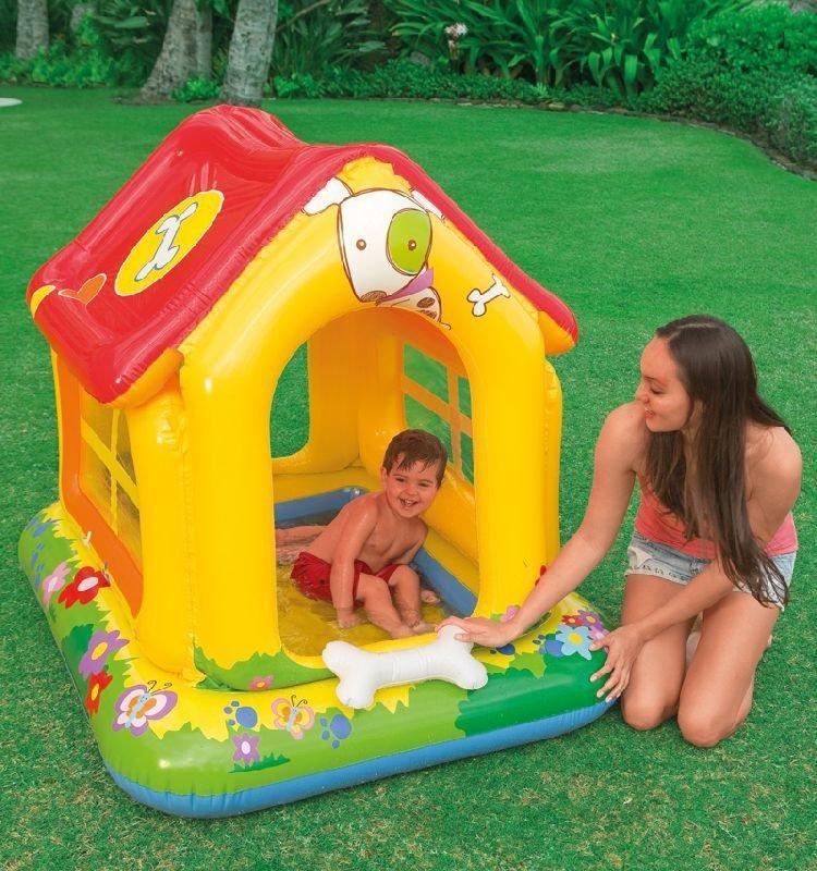 Детский надувной бассейн Intex 142x117х122 cм  (57429)