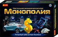 Монополия, экономическая настольная игра, Ranok Creative (220250)