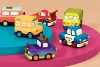 Машинка инерционная серии Забавный автопарк - Джип, Battat (BX1501Z)