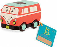 Машинка инерционная серии Забавный автопарк - Ретро Автобус, Battat (BX1502Z)