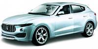 Модель Maserati Levante (серебристый), 1:24, Bburago (18-21081-1)