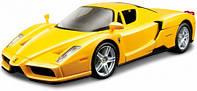 Модель автомобиля Ferrari Enzo, желтый, 1:43, Bburago (18-36100-16)