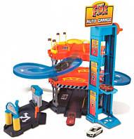 Паркинг, серия Street Fire (3-х уровневая трасса, 2 машинки), 1:43, Bburago (18-30361)