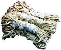 Веревки бельевые (5mm/15m) крученные, Хлопок 100%
