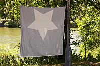 Полотенце-пештемаль пляжное North Star Throw Grey 130х170 Barine
