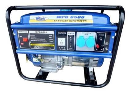 Генератор бензиновый  Werk WPG3600  (2,7кВт), фото 2