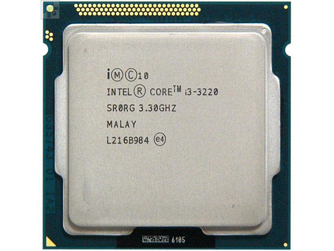 """Процессор Intel Core i3 3220 3.3GHz Б\У """"Over-Stock"""" Б/У"""