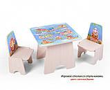 Игровой столик и стульчик Вальтер, фото 4
