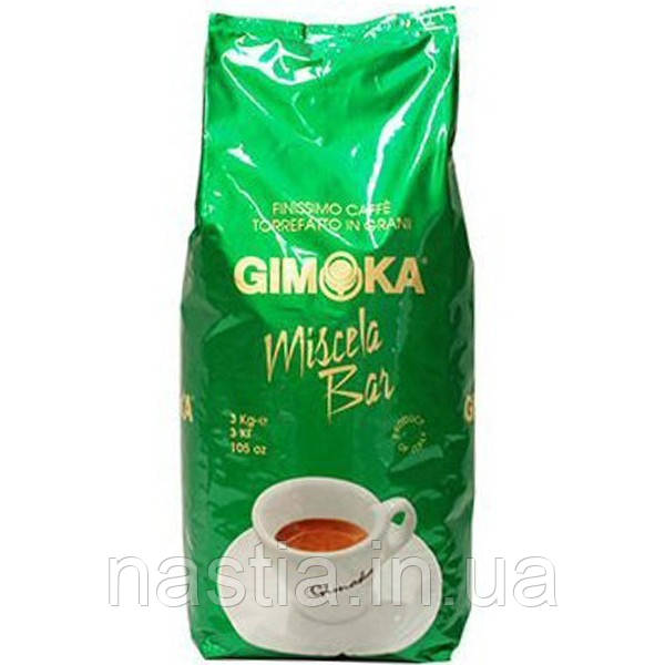 Кофе Gimoka Miscella Bar, зерновой, 3 кг