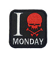 """Нашивка """"MONDAY"""""""