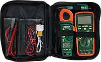 Мультиметр/токовые клещи Extech TK430 комплект комбинированный для тестирования электросистемы