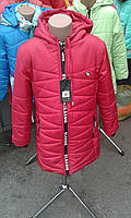 Куртка  пальто  деми на девочку 4-9 лет