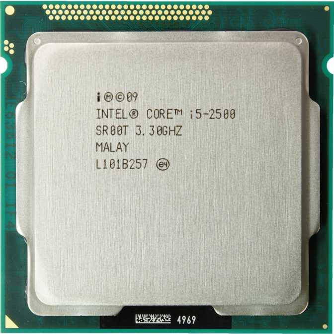 """Процессор Intel Core i5-2500 3.3GHz Б\У """"Over-Stock"""""""