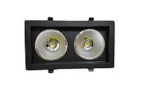 Карданный светодиодный светильник SC 36W Черный, фото 1