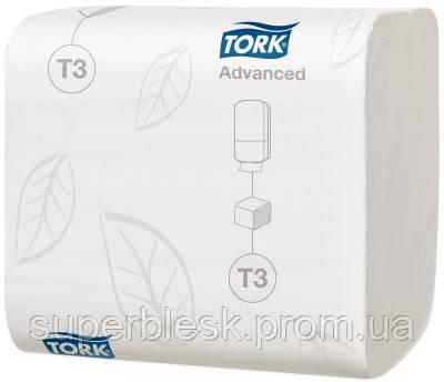 Туалетная бумага листовая, Tork Advanced