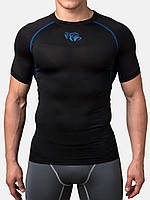 Компрессионная футболка Peresvit Air Motion Short Sleeve  Black Blue