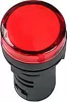 Лампа AD22DS(LED)матрица d22мм красный 230В ИЭК