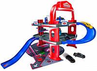 Городской гараж, игровой набор с машинкой, Majorette (205 3743)