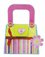 Набор для творчества сумочка с лентой в горошек, Mota (H-101-4)
