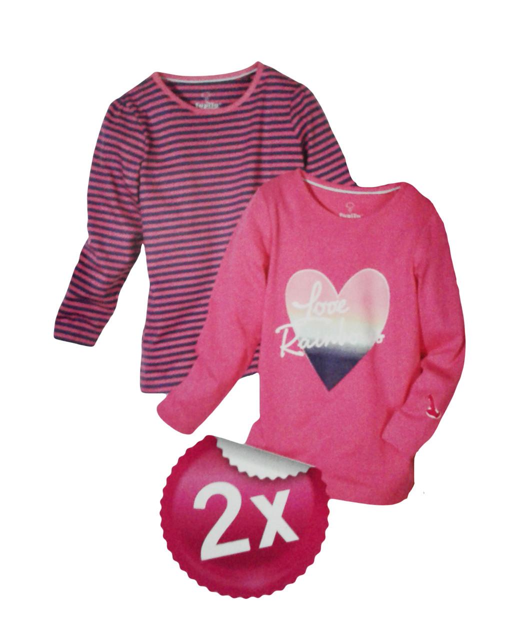 Реглан для девочки, ( 2 шт. в упаковке ), размеры 86/92(2), Lupilu, арт. Л-386