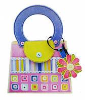 Набор для творчества сумочка с цветными квадратиками, Mota (H-101-3)
