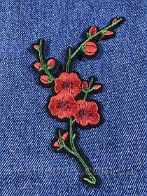 Нашивка Цветок 15 бутонов 85х127мм