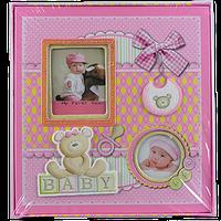Фотоальбом детский Бантик - альбом для новорожденных девочек