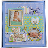 Фотоальбом детский Бантик - альбом для новорожденных мальчиков