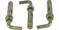 Болт анкерный с гайкой и L-крюком (SRTR-L)