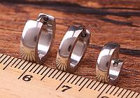 Серьги кольца 316L