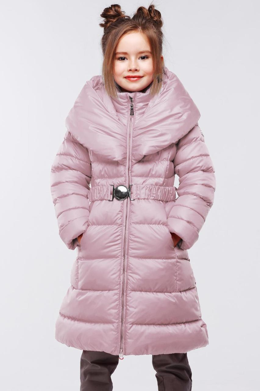 Зимняя курточка с шикарным капюшоном