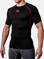Компрессионная футболка Peresvit Air Motion Short Sleeve Black Red