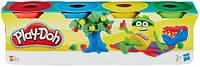 Набор пластилина 4 мини-баночки, Play-Doh (23241)