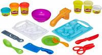 Приготовь и нарежь, набор с пластилином, Kitchen Creations, Play-Doh (B9012)