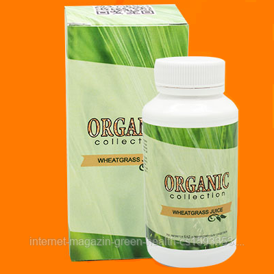 "Wheatgrass - витамины для волос от Organic Collection, Витграсс - Интернет Магазин ""Зефиръ""  в Киеве"