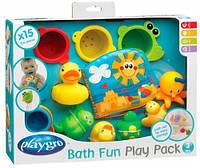 Игрушки для купания (15 элементов), подарочный набор, Playgro (182933)