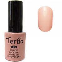 Гель-лак Tertio №100 Бледно-розово красная эмаль 10 мл