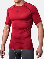 Компрессионная футболка Peresvit Air Motion Short Sleeve Red Black