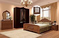 Спальня 4Д «Катрин» орех патина Світ Меблів