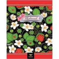 Школьный дневник МАНДАРИН А5+ Твёрдая Обложка на резинке Strawberries (укр) 1461